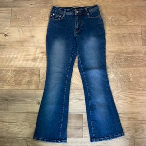 Express Stretch Fit & Flare Jeans size 5/6 short